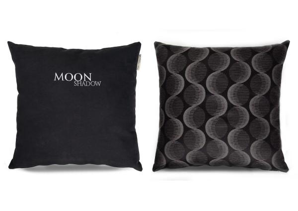 """Typo-Design-Kissen """"Moon Shadow"""" im doubleface Look"""